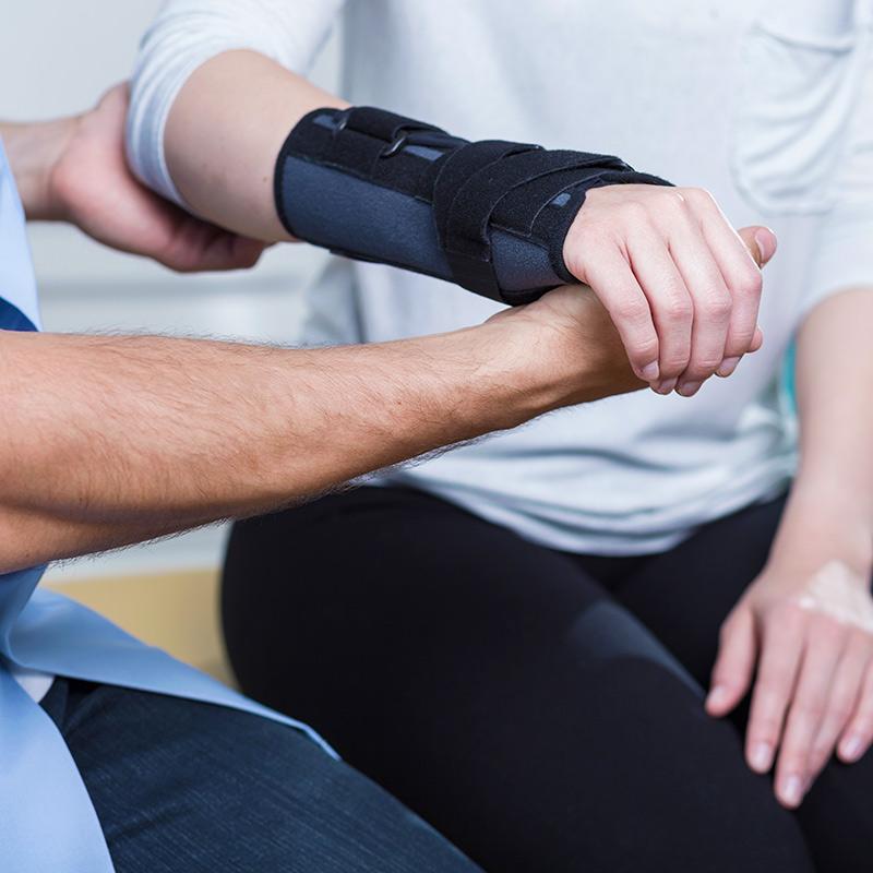 Occupational Therapy in Halifax Nova Scotia, OT with splint
