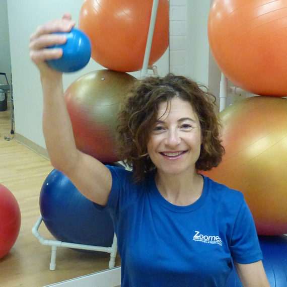 Susa Ross physiotherapist in Halifax NS