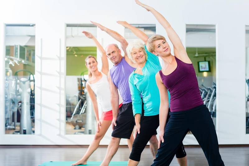 2019 Fitness Regime for seniors