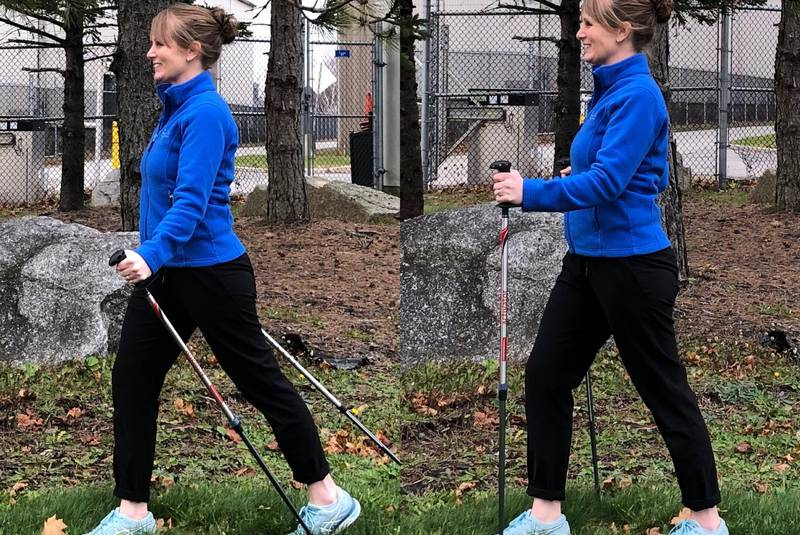 Walking poles: Which technique will work for you?