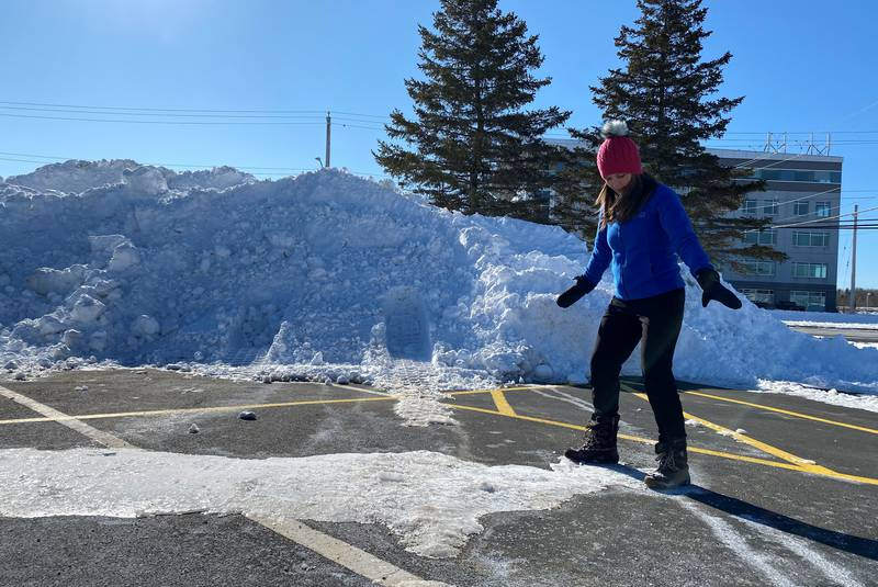 Tips for walking safely on icy surfaces